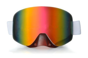 Colored PC General Anti Impact Eyewear Glasses for Skiing pictures & photos