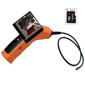 4CH 2.4G Wireless 3.5′′ LCD Tool DVR Pipe Inspection Camera