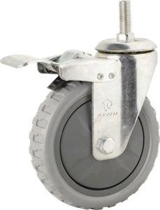 Medium Duty Type PVC Caster (KMx5-M5) pictures & photos