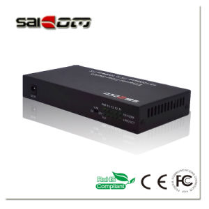 100Mbps 1FX/2Fe Ports Fast Ethernet Switch Media Converter pictures & photos