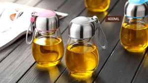 High Borosilicate Glass Single Wall Tumber Bottle for Gifts pictures & photos