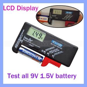 LCD Display Dt168d 1.5V 9V Battery Tester Meter pictures & photos