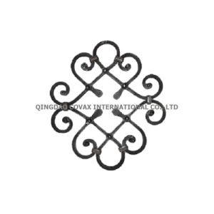 Decorative Flower Panel 11030 Wrought Iron Rosette pictures & photos