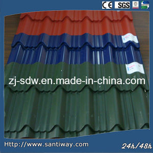 CE & ISO Certified Classical Colorful Roofing Sheet Metal Roof Tile for Hot Sale pictures & photos