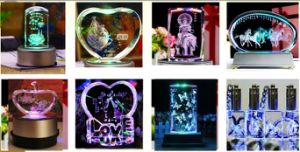 Manufacturer of CNC 3D Crystal Laser Engraving Machine, Crystal Gift, pictures & photos