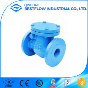 Ductile Iron Cast Iron Flanged Swing Check Valve Price pictures & photos