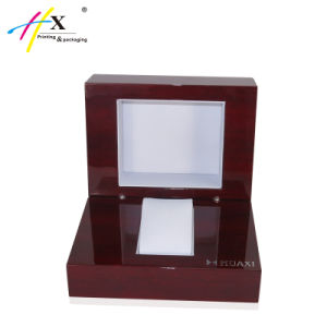 Handmade Wooden Watch Jewelry Display Box pictures & photos