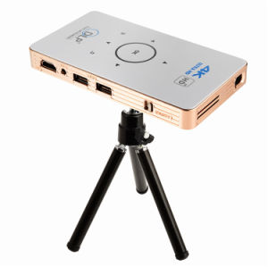 2017 Newest Portable 2-Into-1 TV Box Android Micro Projector C6 Amlogic S905 Android5.1 Mini Projector pictures & photos