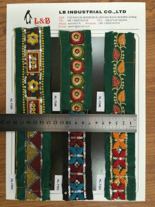 Fashionable Best Sell Embroidery Lace for Decorative pictures & photos