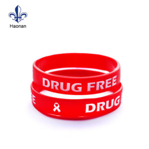 Promotion Gift Silicone Wristband with Custom Logo pictures & photos