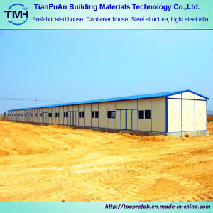 Low Cost Steel Frame House Make in China pictures & photos