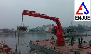 Electric Hydraulic Offshore Knuckle Telescopic Boom Ship Deck Marine Crane pictures & photos