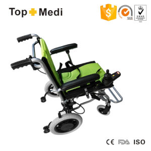 Hot Sale in Europe Ultra Lightweight Folding Electric Power Wheelchair for Handicapped and Elderly People pictures & photos