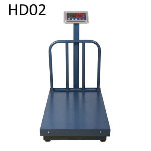 China Digital Heavy Duty Weighing Trolley Hand-Push Scale for Sale pictures & photos