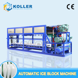 Koller 5tons/Day Aluminum Plate New Auto Ice Block Machine pictures & photos