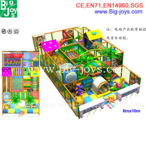 High Quality Kids Small Indoor Playground for Sale (GX-ID01) pictures & photos