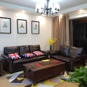 America Sofa, Combination Sofa, 1+2+3 Leather Sofa Furniture (8001) pictures & photos