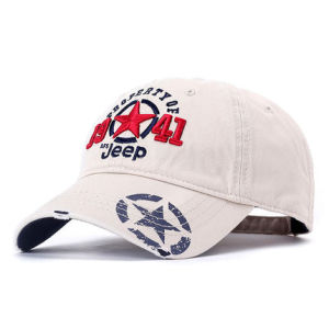 Custom Man Hat Sports Baseball Cap with 3D Embroidery pictures & photos
