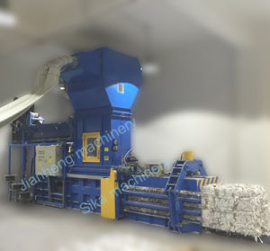Hba40-7272 Automatic Horizontal Baling Machine for Pressing Fiber, Fabric pictures & photos