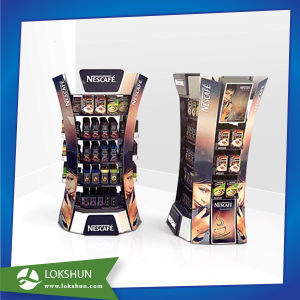 Store POS 4 Sides Cardboard Display Stand for Coffee pictures & photos