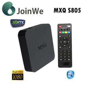 Amlogic S805 Quad Core Android 4.4 Mxq TV Box pictures & photos