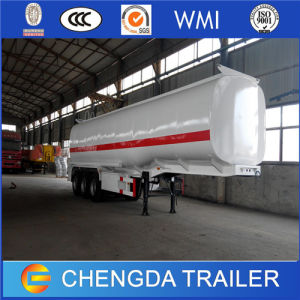 Tri Axles 40000L Carbon Steel Fuel Crude Oil Diesel Tank Tanker Tank Semi Trailer pictures & photos