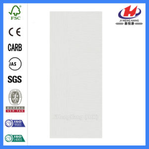 Vertical and Stragiht White Primer Door/Door Skin (JHK-F04) pictures & photos