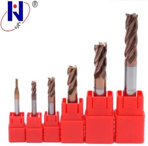 Hot Professional Manufacture Solid Carbide 4 Flutes End Mill pictures & photos
