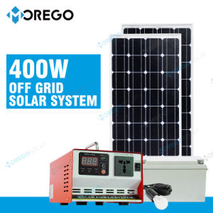 Portable PV Solar Panel 100W Energy System 400W Inverter pictures & photos
