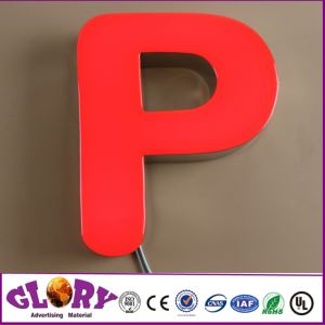 Acrylic and Epoxy Resin LED Channel Letter Sign pictures & photos
