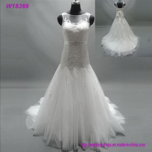 W18369 Fashion Ladies Elegant Wedding Dresses pictures & photos