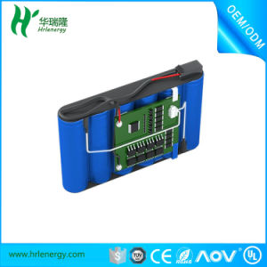 Rechargeable Li-ion Battery 18650 2200mAh 11.1V for Automatic Vacuum Cleaner pictures & photos