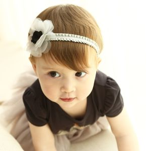 2017 Wholesale Fashion Baby Hair Accessories Bowknot Headband Flower Hair Band pictures & photos