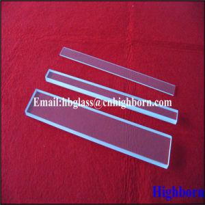 Heat Resistance Clear Rectangle Fused Quartz Glass Slide pictures & photos