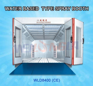 Wld8400 Best Quality Auto Paint Booth/Car Paint/Spray Booth pictures & photos