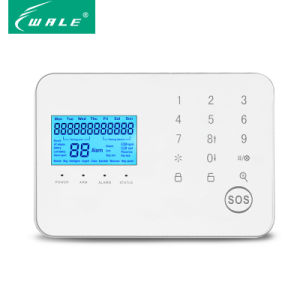 Intelligent Home Security GSM Alarm with Voice Prompt and APP pictures & photos
