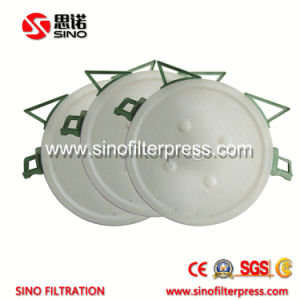 Ceramic Slurry Automatic Round PP Chamber Filter Press Machine pictures & photos