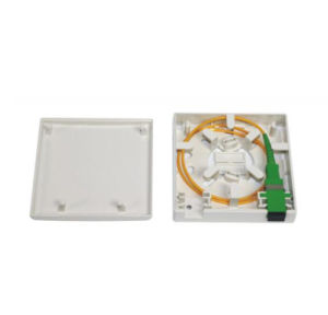 Indoor 2port FTTH Fiber Optic Distribution Box of Sc Type pictures & photos