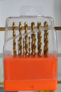 13PCS HSS Twist Drills Set (1-13)