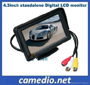 High Quality 4.3inch Digital Rear View Car LCD Monitor pictures & photos
