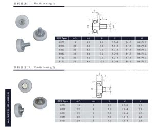 Professional Manufacturer Full Ceramic Bearings Plastic Bearing pictures & photos