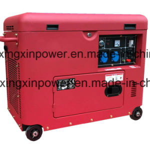5kw Super Silent Diesel Air Cooled Silent Generator, Mobile Type pictures & photos