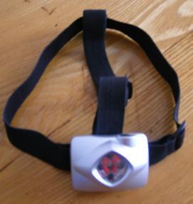 5-LED Head Lamp for Carp Fishing