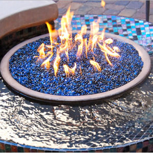 Pacific Blue Reflective Fire Glass pictures & photos