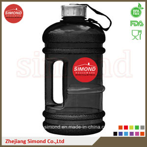 2.2L BPA Free Custom PETG Plastic Water Bottle with Handle pictures & photos