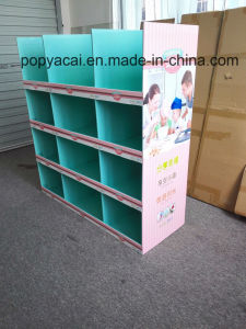 Cmyk Printed Half Pallet Display with 12 Pockets for Kitchenwares pictures & photos