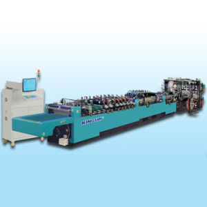 High Speed Self-Stand and Zipper Bag Making Machine (KZD-600SZ) pictures & photos