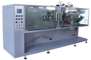 DXDH-L180T Horizontal Twin-Sachet Liquid & Paste Packing Machine pictures & photos