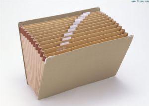Kraft Expanding Wallet A4 File Folder pictures & photos