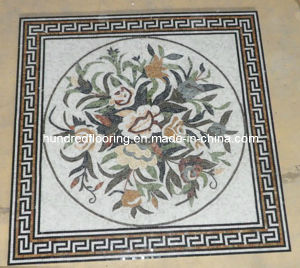 Pattern Mosaic Marble Stone Mosaic Floor Tile (ST99) pictures & photos